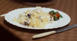 Картофель по-мадьярски с копченостями