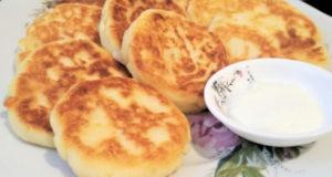 Картофельно-творожные сырнички