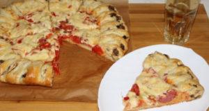 Необычный пирог пицца