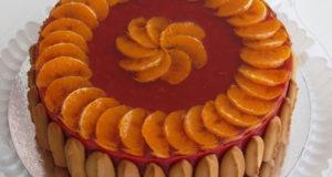 Торт постный яблочно-вишневый 2