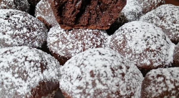 Самые мягкие шоколадные кексы