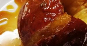 Запеченные яблоки с медовым сиропом