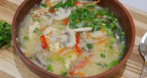 Китайский кисло-сладкий суп
