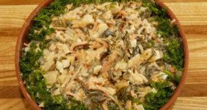 Салат Медуза быстро и вкусно