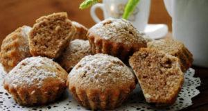 Ореховые кексы к чаю