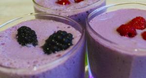 Молочно-ягодный коктейль