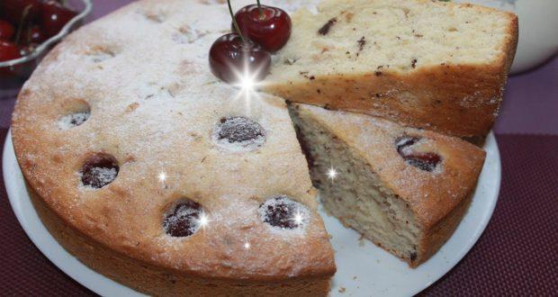 Ягодный пирог с шоколадной крошкой