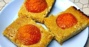 Миндальные пирожные с абрикосами