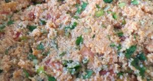 Салат из булгура диетический