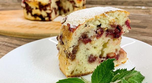 Пирог с земляникой