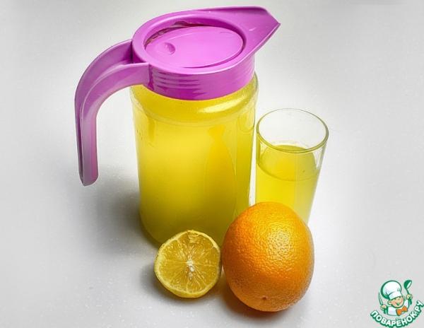 Домашний лимонад из цитрусов
