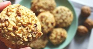 Медовое печенья с Грецким орехом