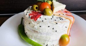 Закусочный торт Мужской