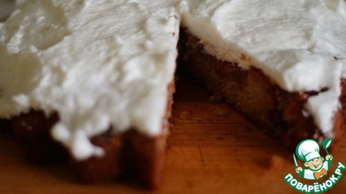 Клубничный пирог из рисовой муки