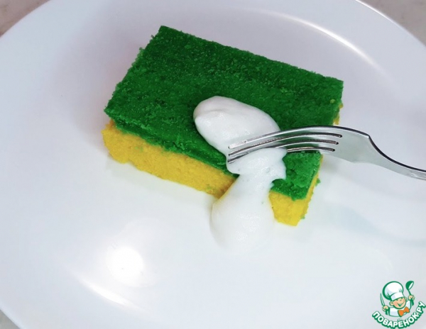 Пирожное Губка для мытья посуды