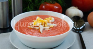 Холодный суп Сальморехо Salmorejo