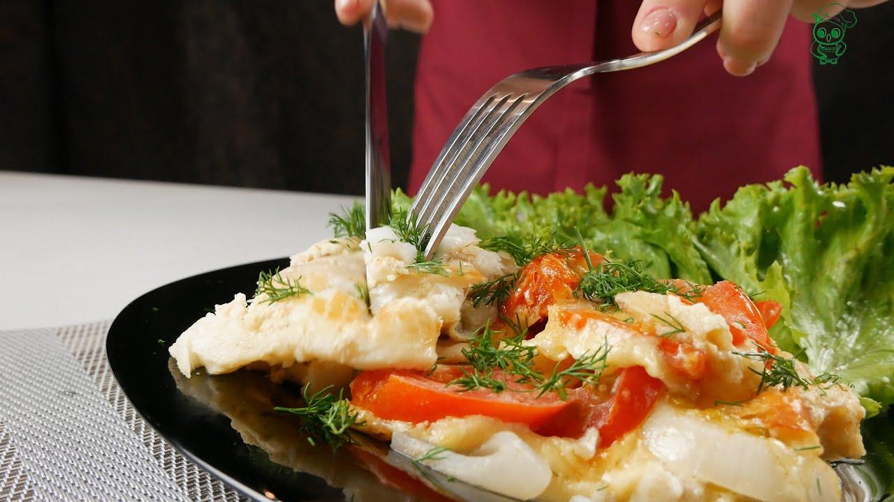 Рыба в соусе с помидорами