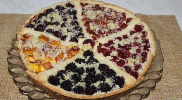 Творожный пирог ассорти