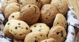 Печенье с шоколадом и крупинками соли