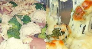 Куриные рулетики запеченные с овощами и сыром