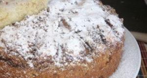 Корнуэльский яблочный пирог с корицей и орехами