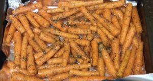 Молодая морковь по-провански