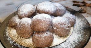 Шоколадное печенье трюфель