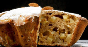 Яблочный пирог из ржаной муки