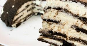 Торт без выпечки Орео