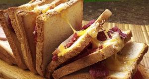 Гармошка из горячих бутербродов