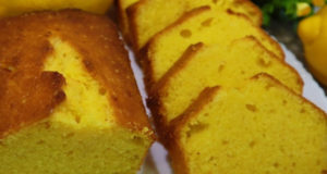 Влажный лимонный кекс