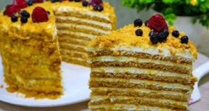 Классический торт Медовик