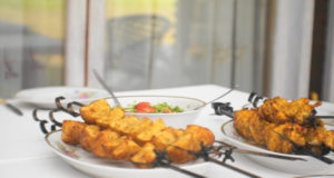 Курица тандури с картофелем в специях