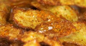 Чипсы из очисток картофеля