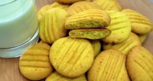 Ароматное печенье к чаю с апельсиновым вкусом