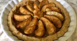 Постный яблочный тарт
