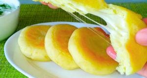 Картофельные зразы или пирожки с сыром