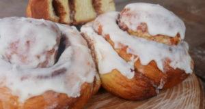 Необычные булочки Синнабон