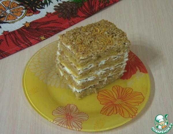 """Тыквенный пряный торт """"Осенний"""""""