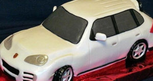 Торт 3D-Автомобиль Сборка и украшение