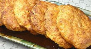 Морковные лепешки с сыром и творогом
