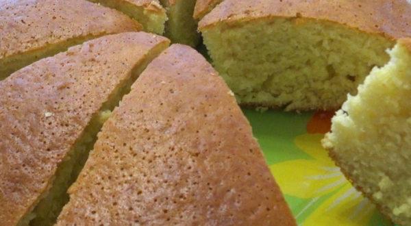 Тесто для пышного бисквита всего за 2 минуты