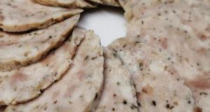 Куриная колбаса с прованскими травами