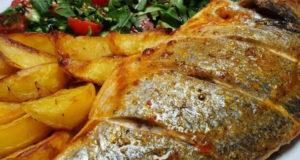 Простой ужин за 35 минут в духовке Запечённый картофель с рыбой