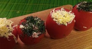 Холодная закуска Салат в помидоре Фаршированный помидор