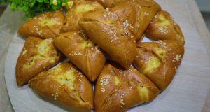 Пирожки с мясом-тесто на кефире