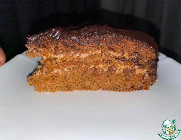 Торт Медовик со сливочным кремом
