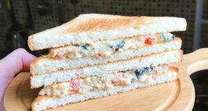 Вегетарианский сэндвич с ТУНЦОМ