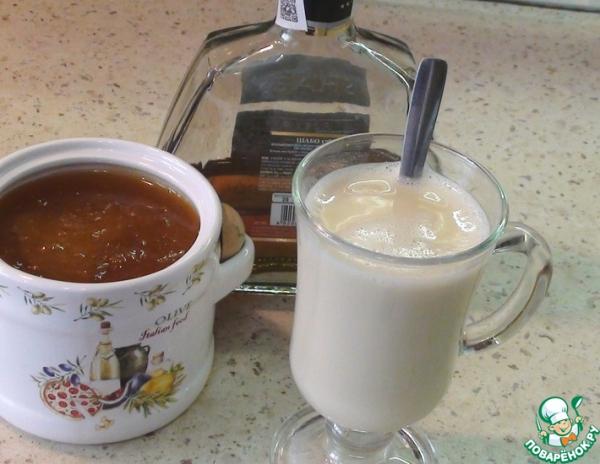 Молочный коктейль от кашля