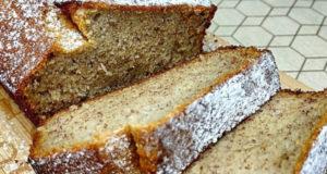Банановый хлеб на рисовой муке